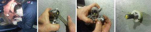 Infiniti FX ремонт механизма подъема рулевой колонки