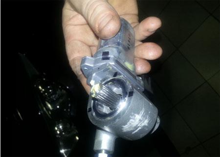 редуктор механизма подъема рулевой колонки