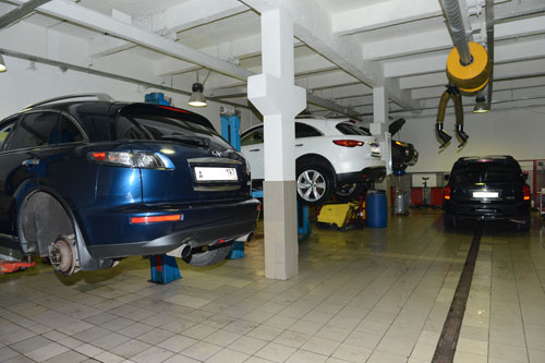 Все виды ремонтно-восстановительных мероприятий, включая сложный капитальный ремонт моторов и трансмиссии.