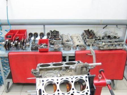 инфинити фх 35 ремонт двигателя