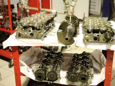 Ремонт двигателя Infiniti qx56