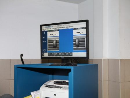 На базе центра работает стенд диагностики ходовой части и тормозной системы автомобилей.