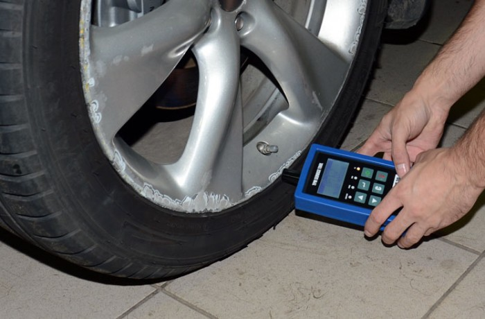 Адаптация (прописка) датчиков давления колес (шин).